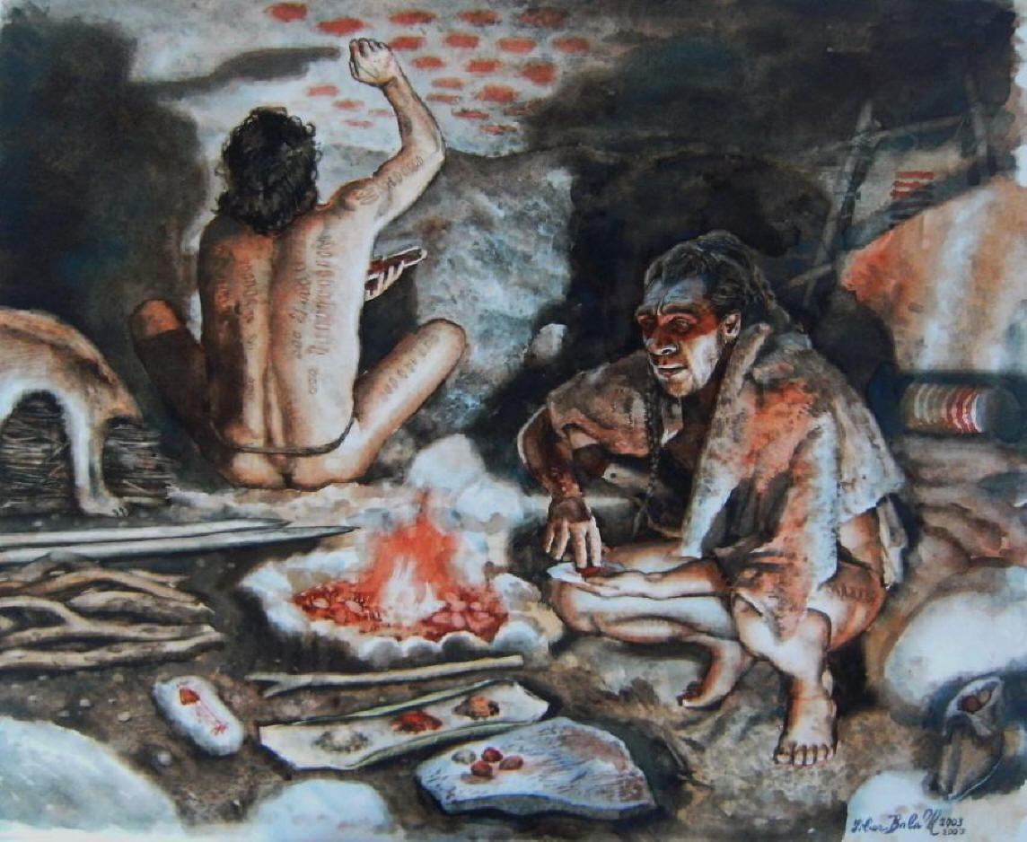 lifestyle of paleolithic peoples